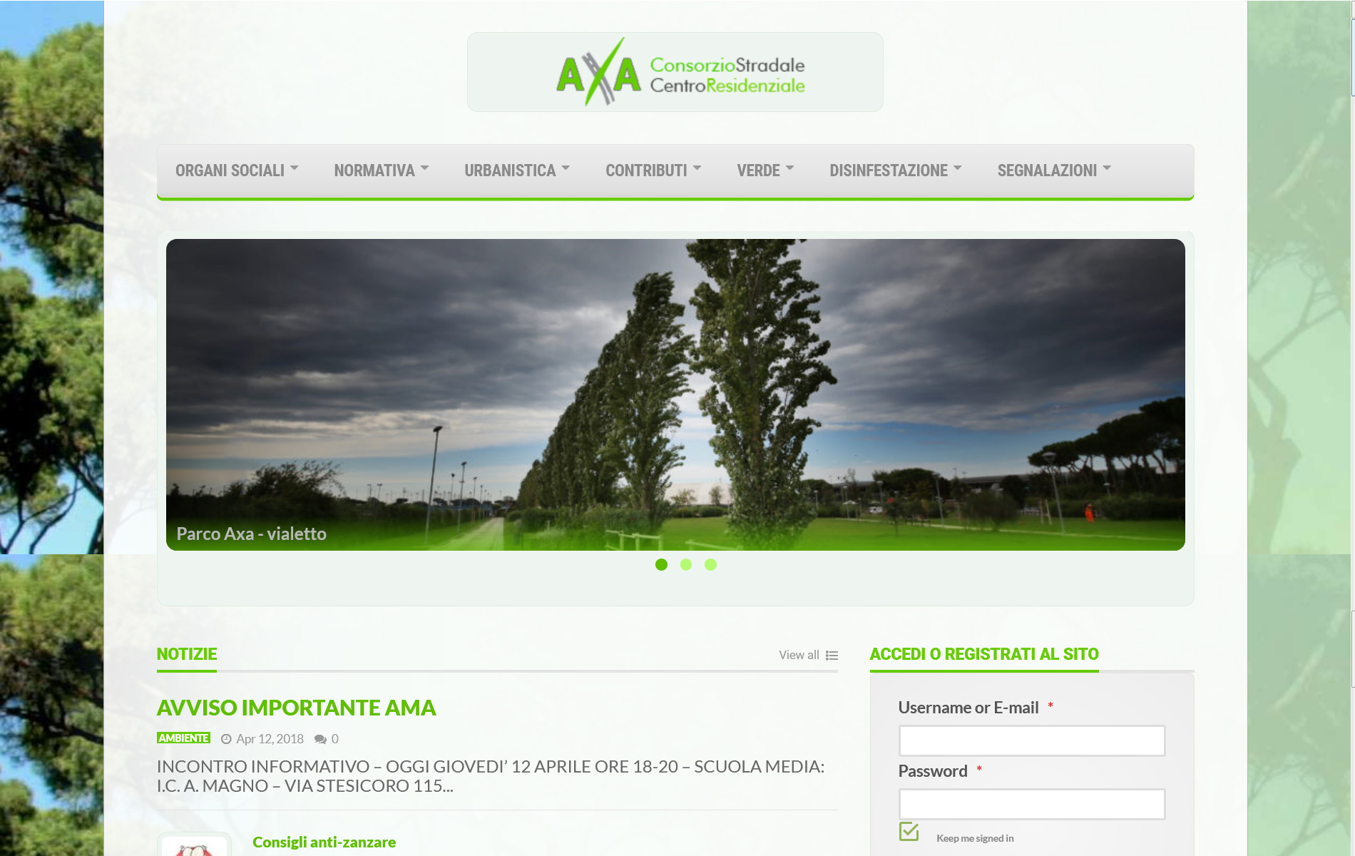 ConsorzioAxa.it – portale ufficiale del Consorzio AXA, supporto per i 27 mila consorziati