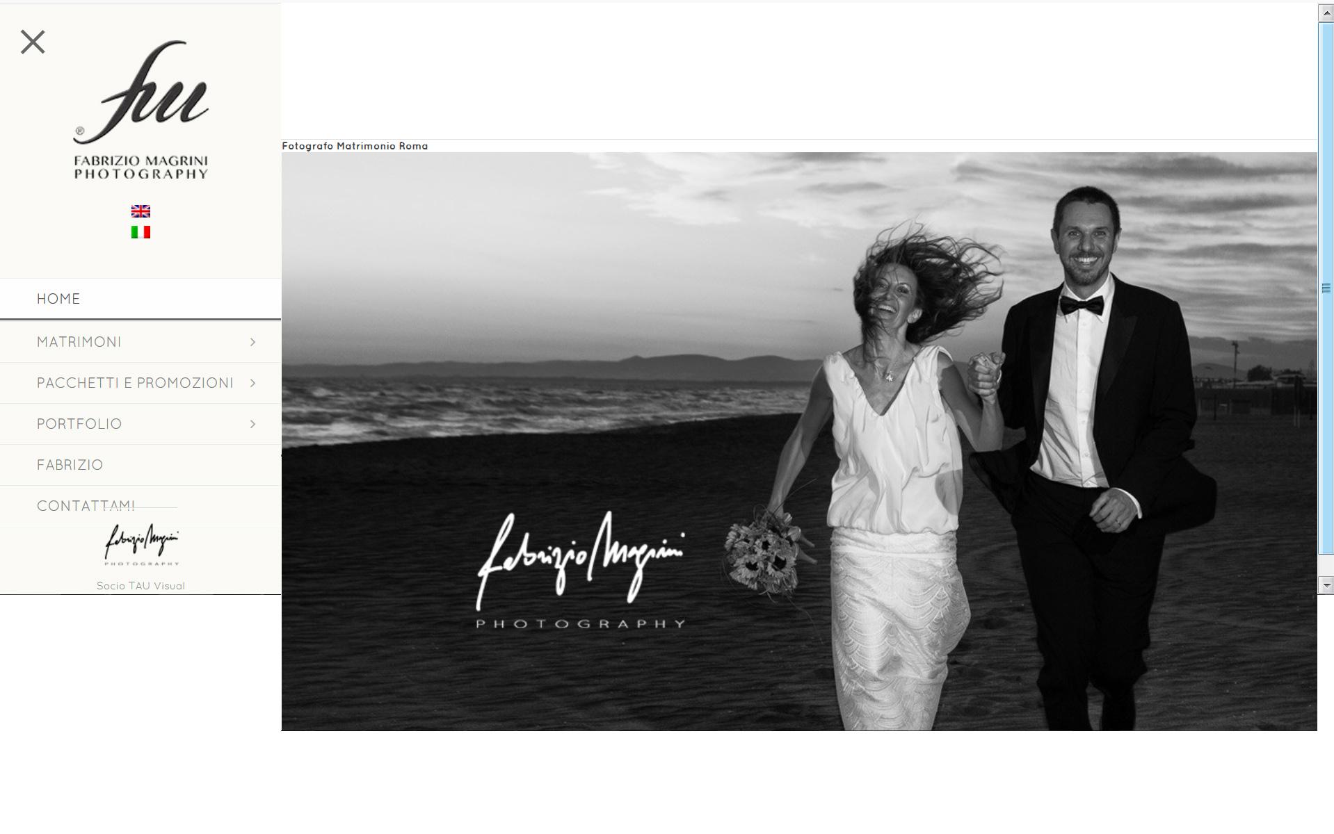 Fabrizio Magrini fotografo di matrimoni ed eventi a Roma e resto Italia