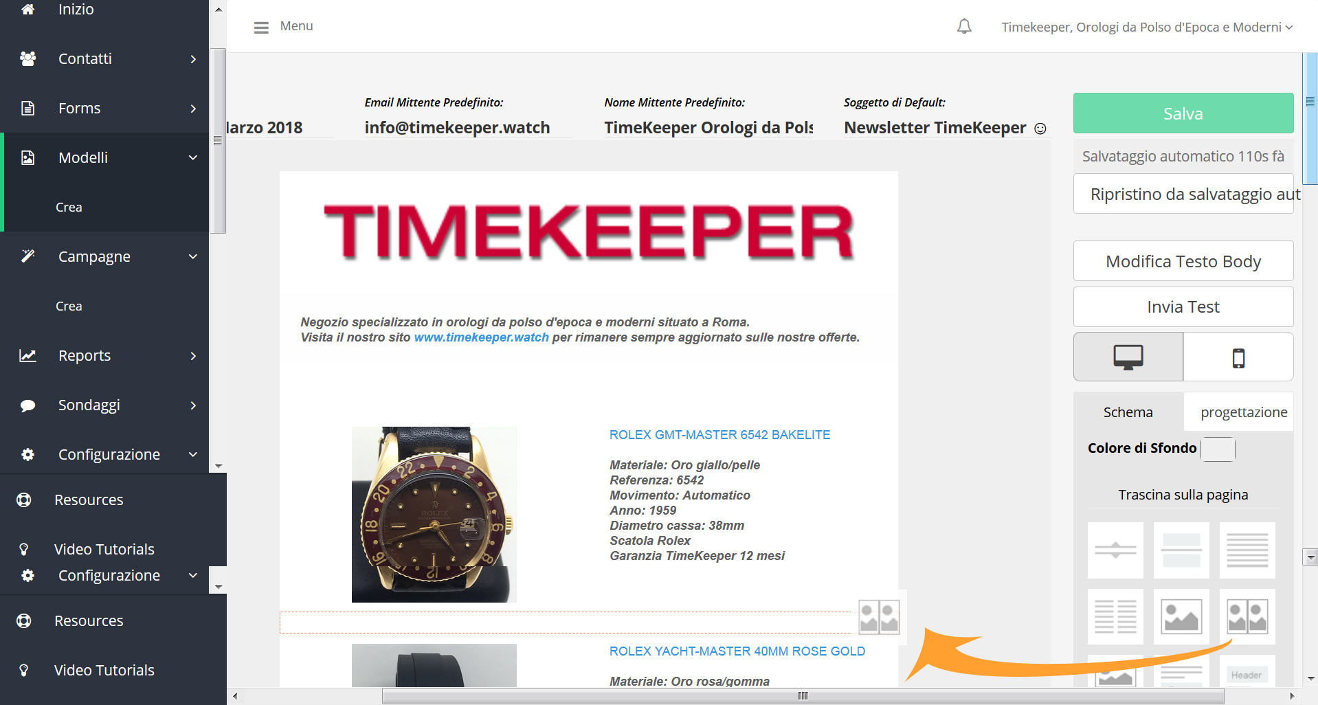 Newsletter/DEM – Timekeeper.watch
