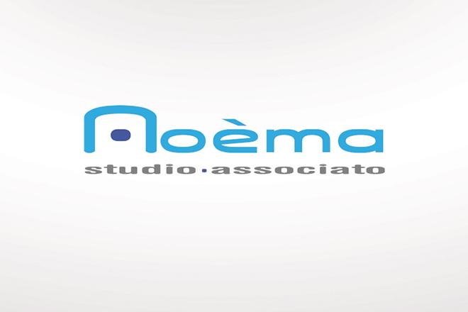 Logo e immagine coordinata studio associato Noèma di consulenza peritale ed stimativa