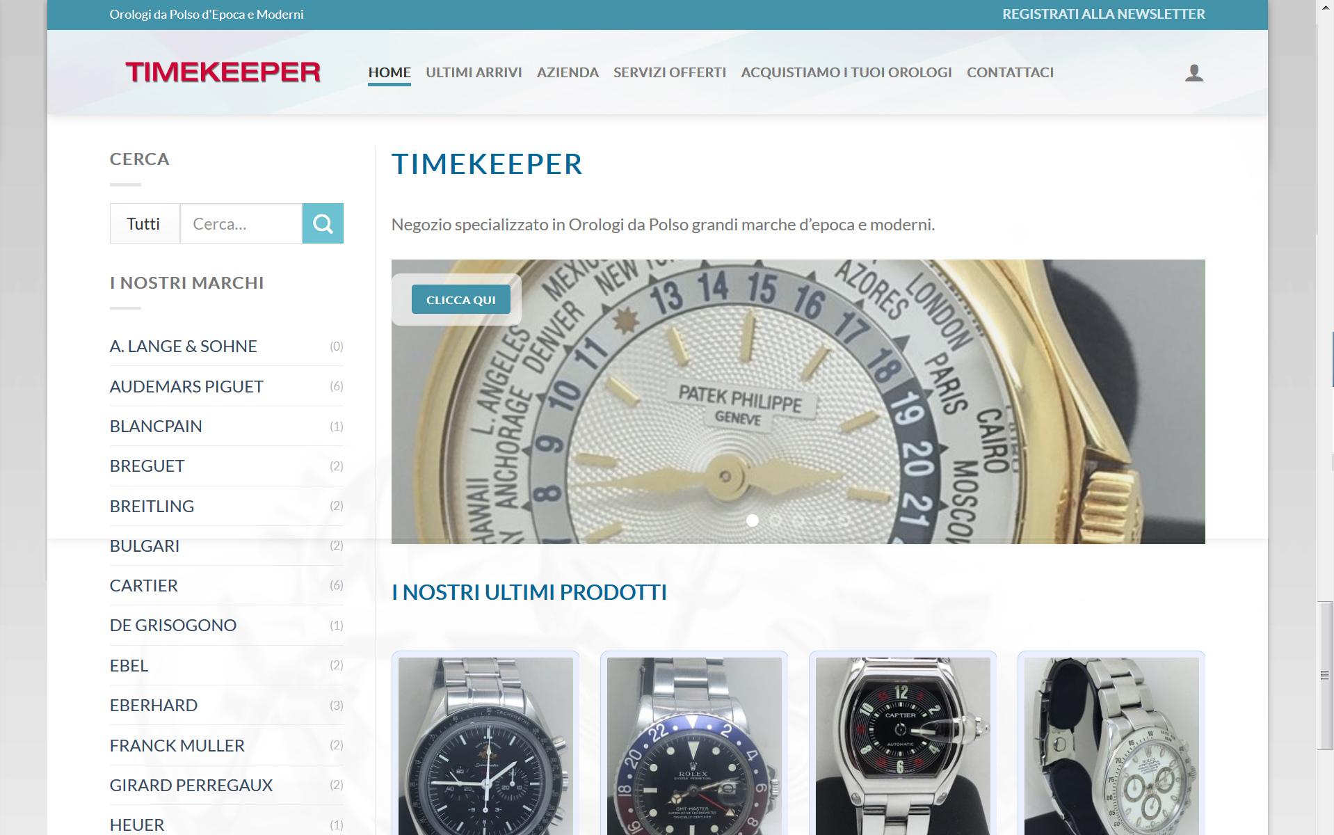 Timekeeper.watch – Orologi da Polso d'Epoca e Moderni di qualità